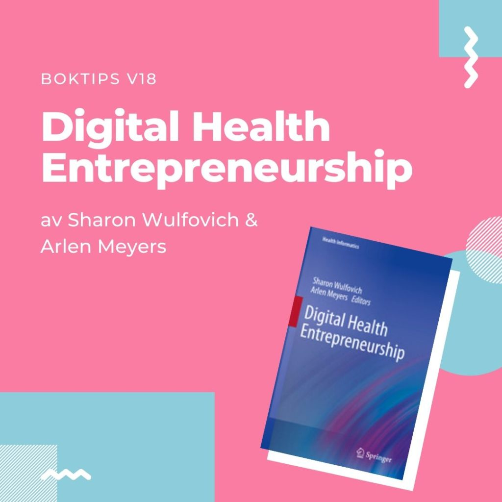 Digital Health Entrepreneurship boktips