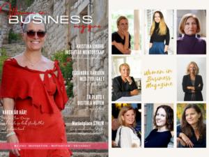 women in business magazine intervju